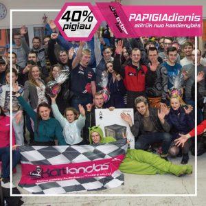 Papigiadienio akcija Kaunas