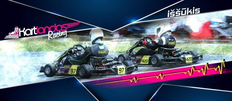 Kartlandas Racing iššūkis. Kartlandas